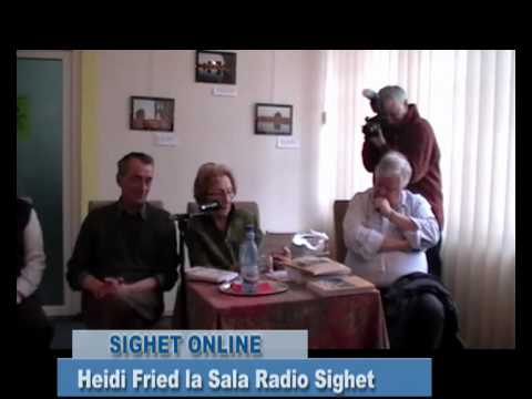 Heidi Fried la Sala Radio Sighet