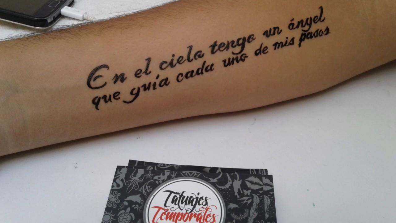 Dedicado A Mamá Tatuaje Temporal Tatuajestemporalesnet Youtube