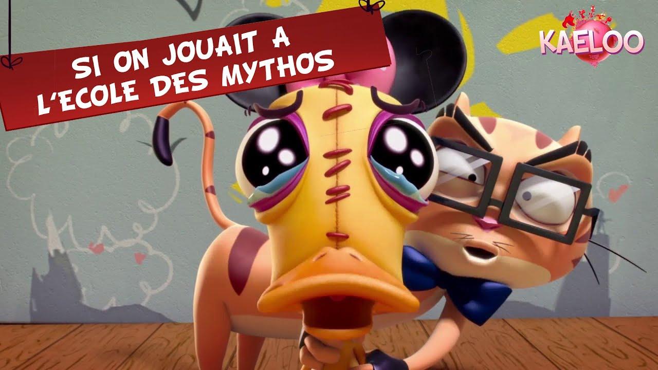 Download KAELOO - Episode : Si on jouait à l'école des mythos (ton dessin animé sur TéléTOON+)
