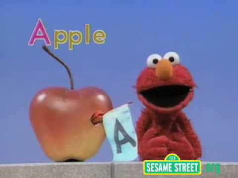 elmo letter of the day song sesame elmo celebrate the letter quot a quot 21468