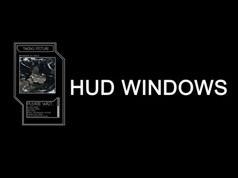Window/HUD ELEMENT - After Effects Tutorial - Basic