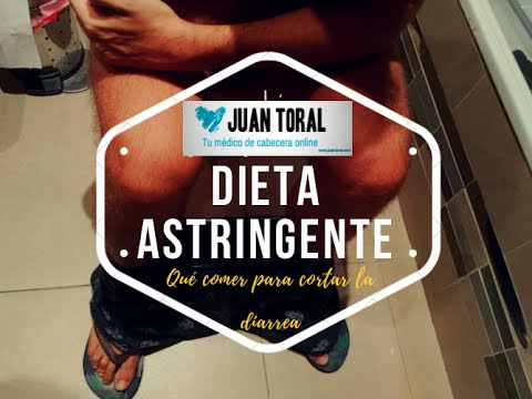 dieta astringente para adultos