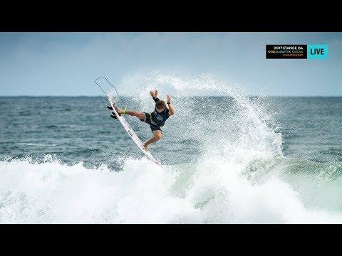 2017 STANCE ISA World Adaptive Surfing Championship - LIVE - 11.30.17