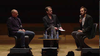 First they came for Assange: Yanis Varoufakis & Srećko Horvat, Bozar, Brussels, June 2016 | DiEM25