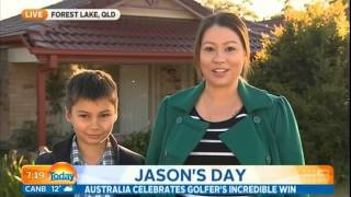 Sister of Jason Day tells what Jason is like as a brother