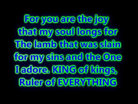 Hosanna [Kirk Franklin] Lyrics on Screen