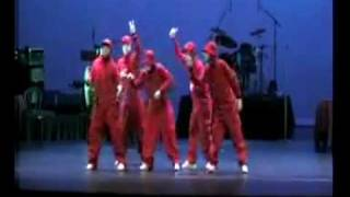 The Jabbawockeez in Automatic Response Show 2007.MP4