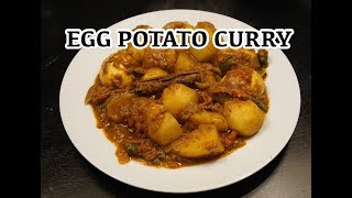 Potato Egg Curry Recipe