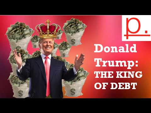 Image result for donald trump debt