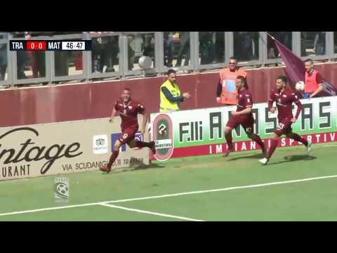 Highlights Trapani-Matera 1-0. 33^ Giornata SerieC 31.03.18 ©TrapaniCalcio.it