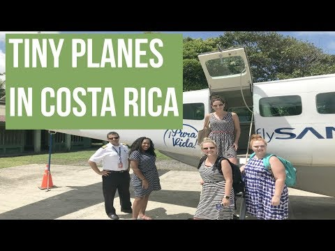 MY EXPERIENCE WITH SANSA AIRLINES IN COSTA RICA
