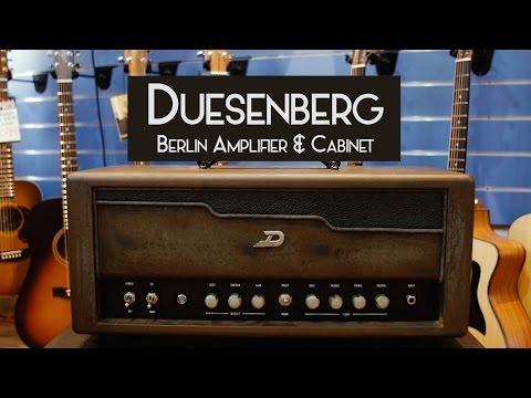 Duesenberg Berlin Amp and Cab demo at Cranbourne Music