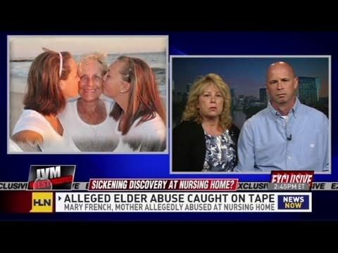 CNN: Camera records alleged elder abuse - YouTube
