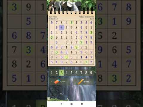 Sudoku Puzzle Free APK Android Game Play