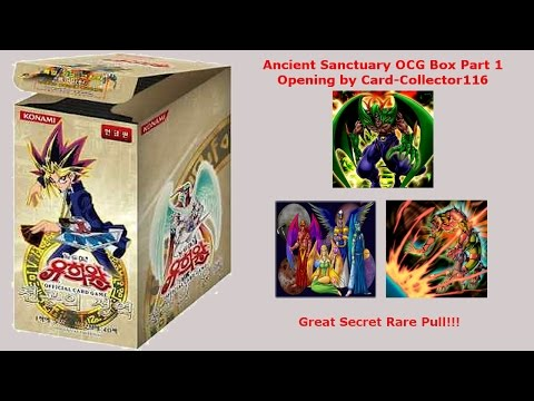"Yugioh Ancient Sanctuary (OCG Korea) Booster Box Opening Teil 1 ""First on Youtube"" GERMAN"