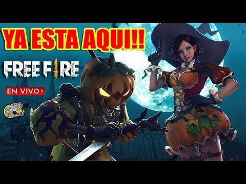 🔴 Ya esta aquí la Actualización Completa :) - Free Fire - Zombies, Halloween, Personaje, y Mas!!!