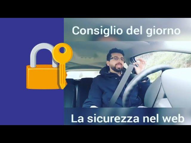 Consigli sulla sicurezza nel web - 1minutodiRug