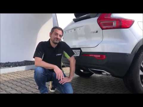 HEICO SPORTIV - sports exhaust system with electric exhaust flap control for the Volvo XC40 T4/T5