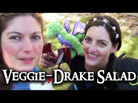 Happy Hobbit: Veggie-Drake Salad - Episode 84