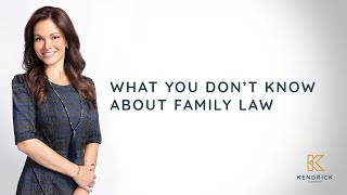 Family Law | Kendrick Law Group