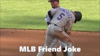 Las Mejores Bromas  De Los Jugadores De Beisbol