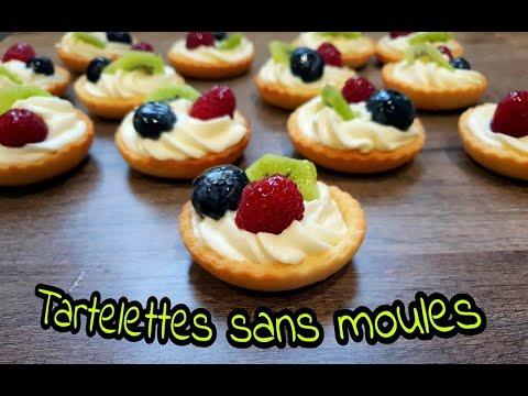 mini-tartelettes-aux-fruits-sans-moules,-et-la-pâte-sans-beurre-,très-facile-à-réaliser