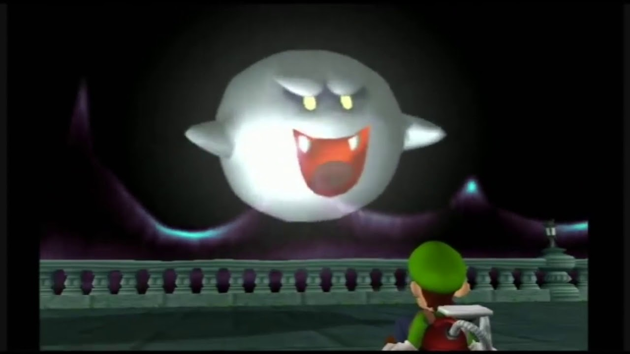 Luigi S Mansion Portrait Ghost Headcanon Voices