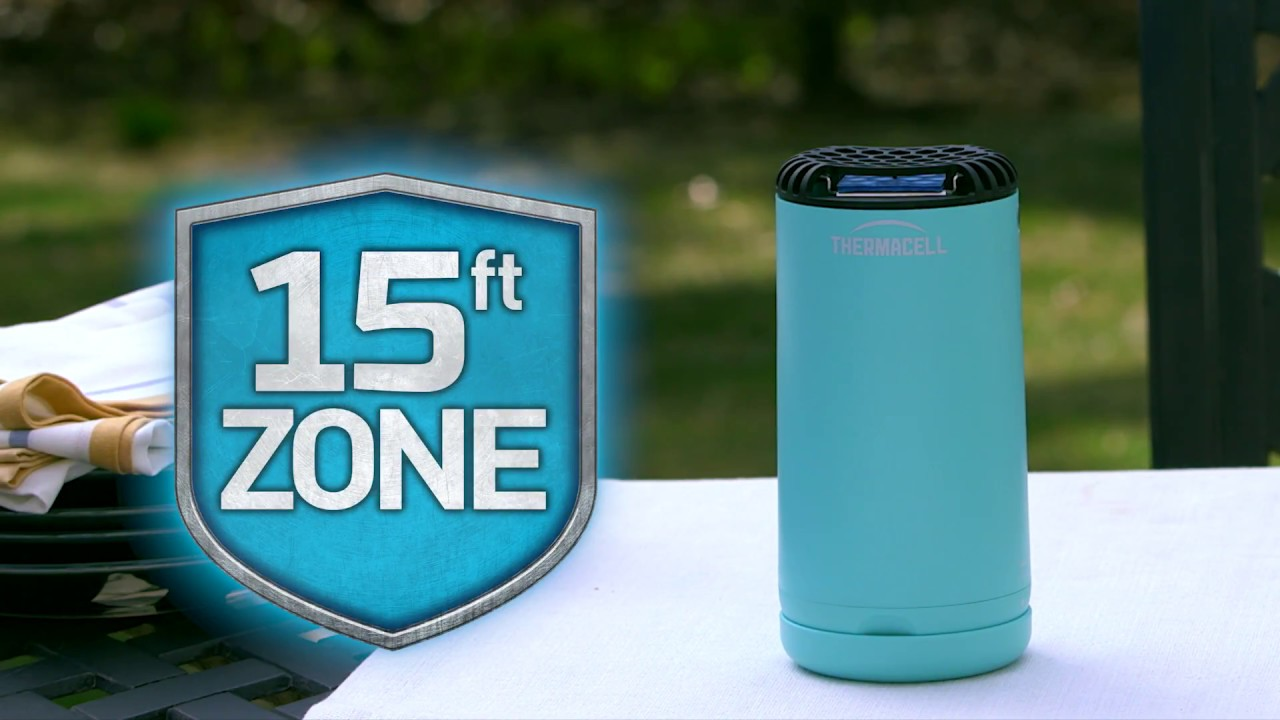 thermacell patio shield mosquito repellent how it works