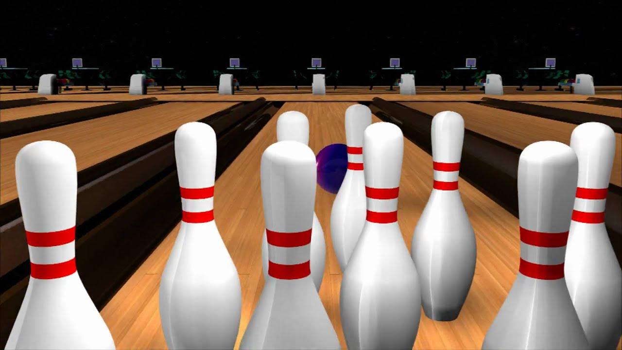 Bowling animation