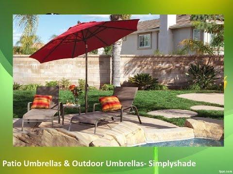 Patio Umbrellas & Outdoor Umbrellas