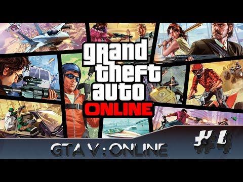 GTA V : Online - Atacando os Players c/ GabrielPrimeiro [Com. ao vivo] #4