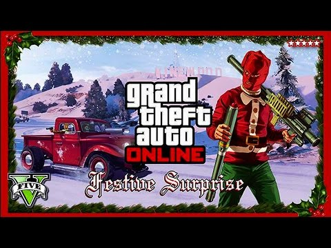 GTA 5 Christmas DLC 5,000,000 on NEW GEAR! - Customizing Cars - ...