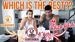 Ultimate Chicken Sandwich Review - Chick-fil-A, Popeyes, Slim Chickens