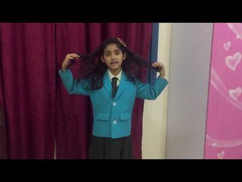 A simple poem recitation for school kids
