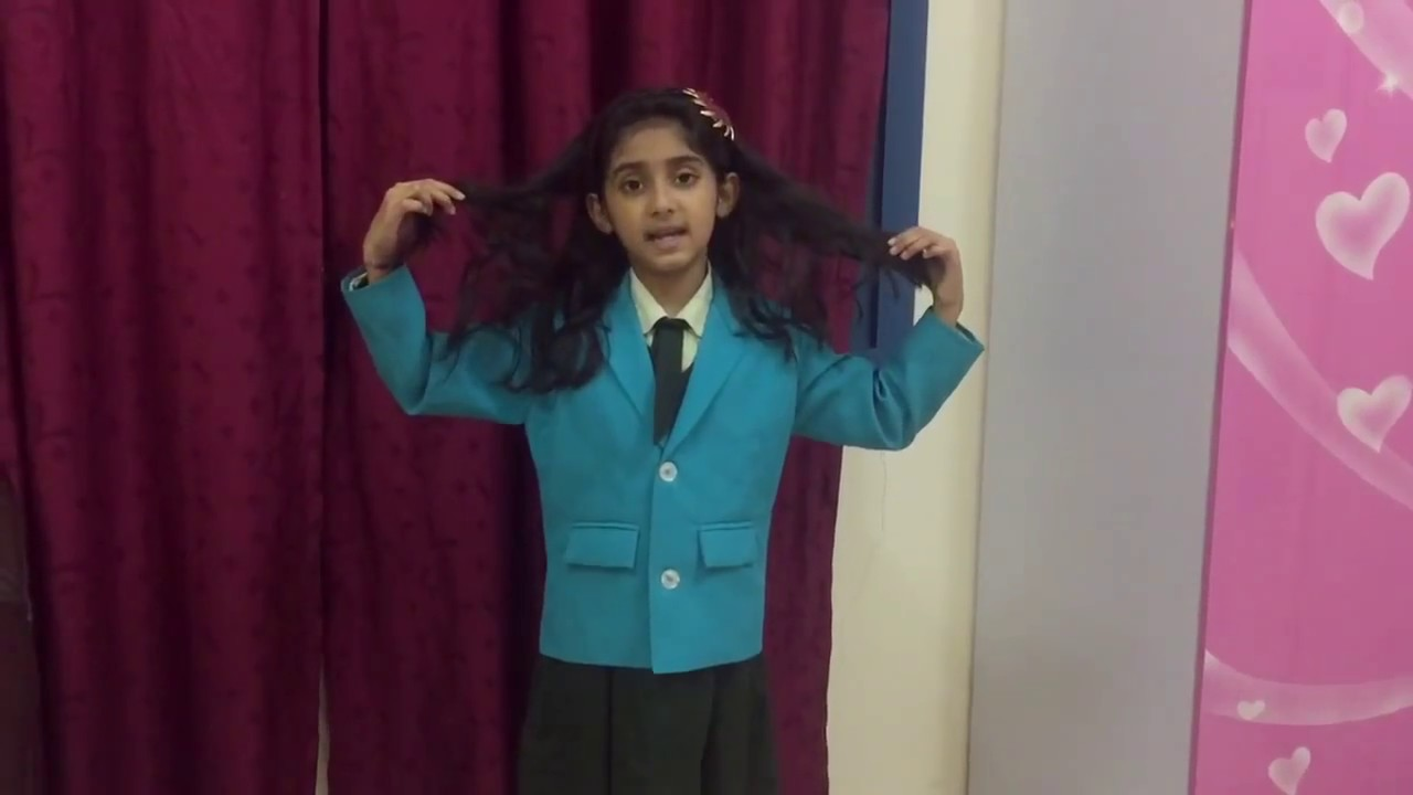 A simple poem recitation for school kids - YouTube