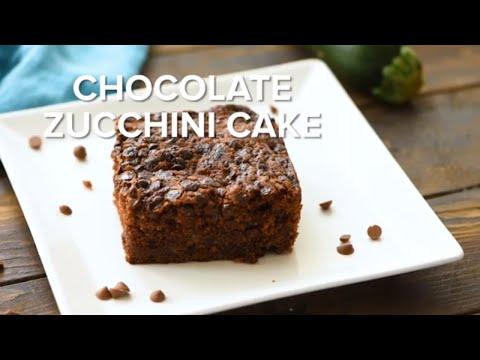 Chocolate Zucchini Cake with Chocolate Chips