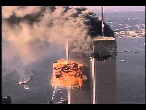 2nd plane hits world trade center  911