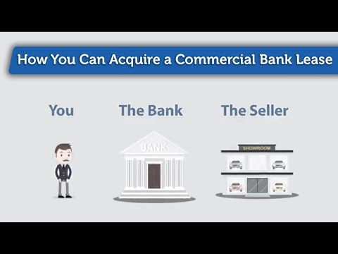How You Can Acquire a Commercial Bank Lease