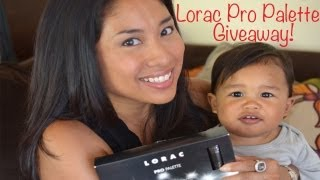 CLOSED - Lorac Pro Palette Giveaway!
