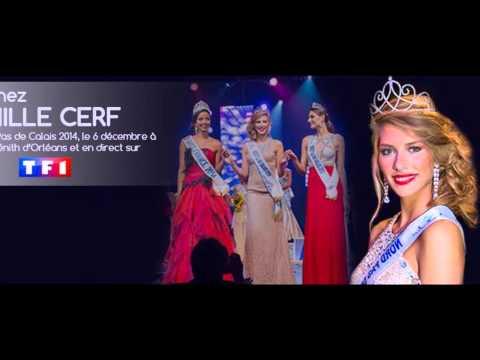 Camille Cerf Miss Nord-Pas-de-Calais 2014