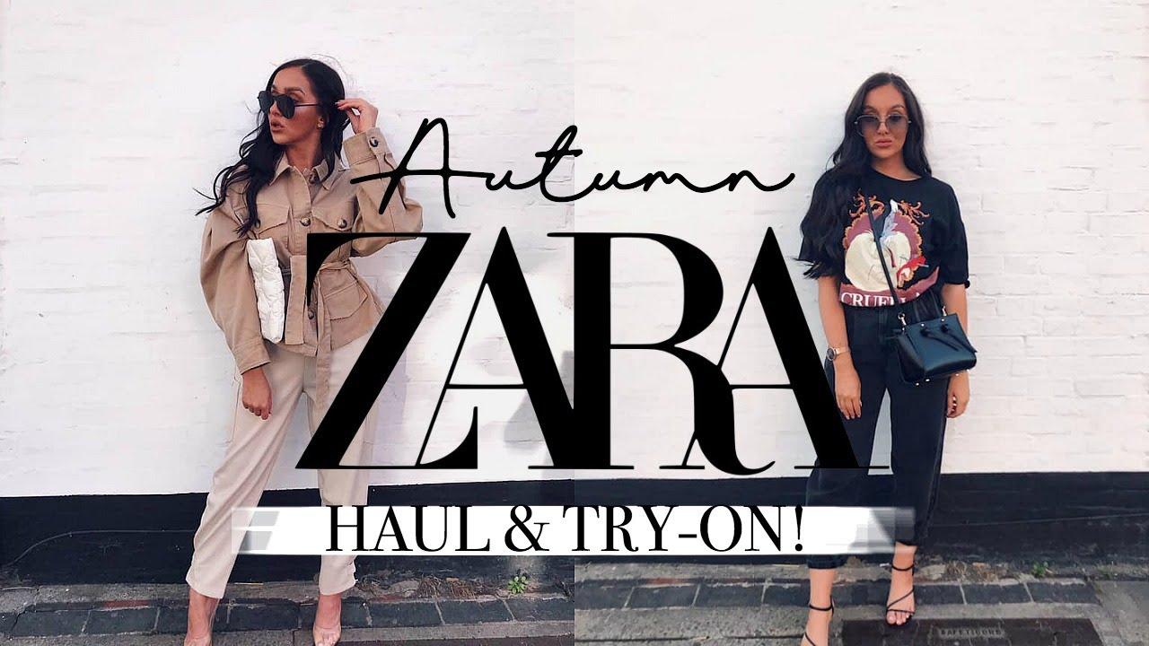 HUGE AUTUMN ZARA HAUL + TRY-ON 2019! || AUTUMN OUTFIT IDEAS 2