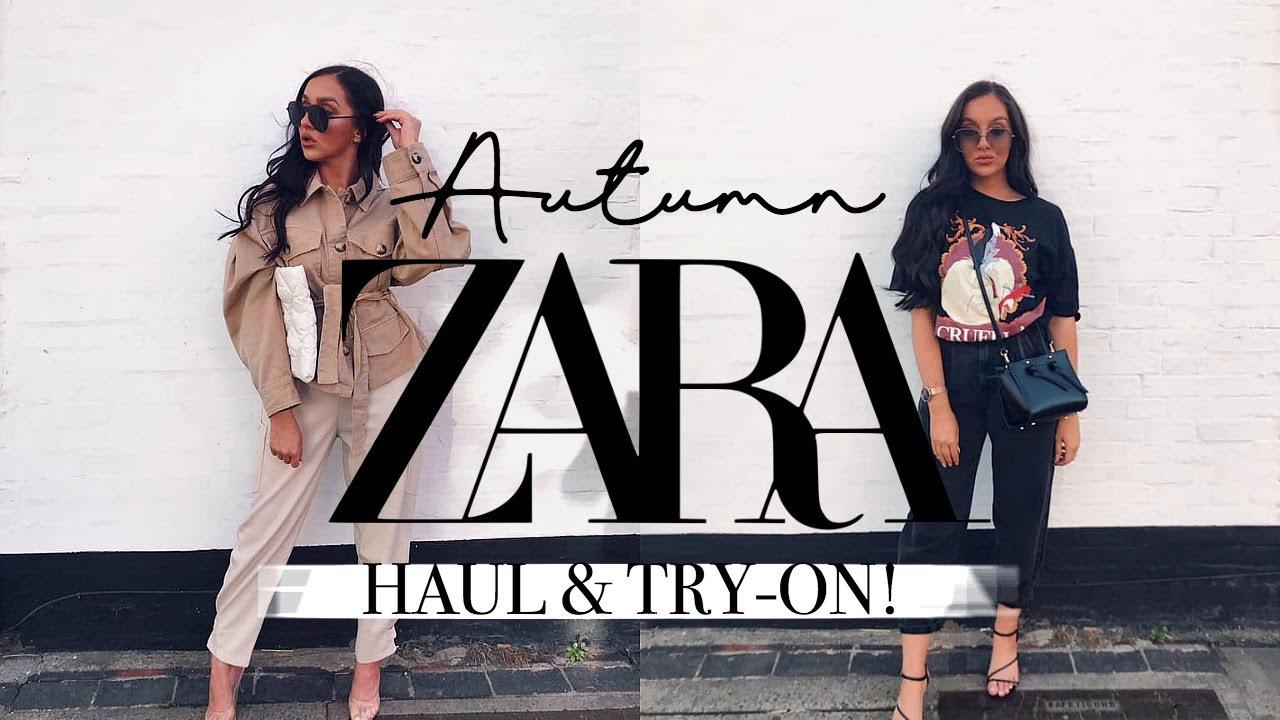 HUGE AUTUMN ZARA HAUL + TRY-ON 2019! || AUTUMN OUTFIT IDEAS
