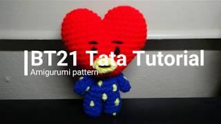 BT21 Тата підручник // амігурумі візерунок // Crochet з мене