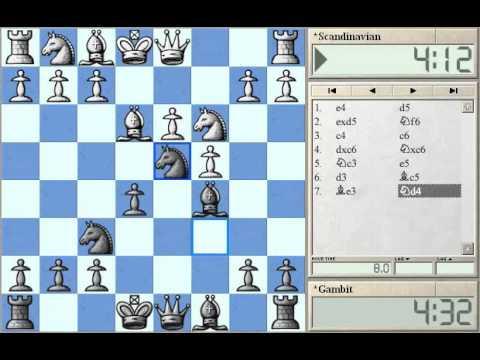 Scandinavian Gambit part 1