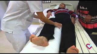 Cambios posturales. Acomodarse y cambiar de posición en la cama (Hospital Aita Menni)