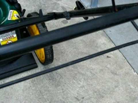 Honda 5.5hp Yardman by MTD Lawnmower review