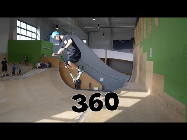 Scooter Tutorial - 360 // Freestyle Academy Stuttgart