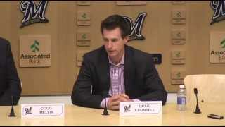 Brewers Press Conference