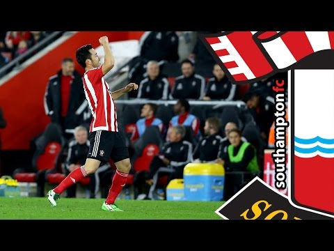 GOALS: Southampton 2-1 Aston Villa (Capital One Cup Round 4)