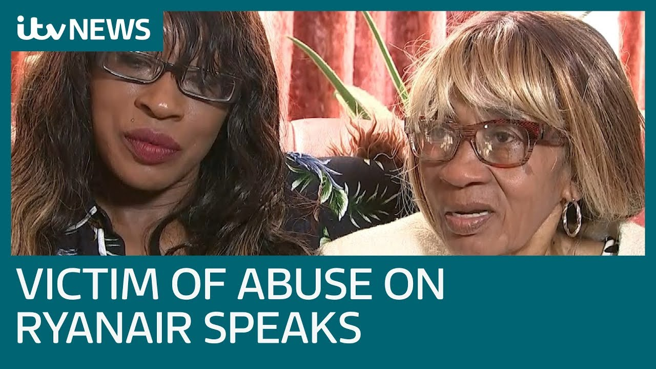 victim-of-racist-tirade-on-ryanair-flight-speaks-of-shock-at-incident-itv-news